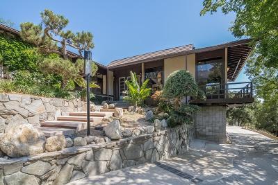 Pasadena Single Family Home For Sale: 3118 East Villa Knolls Drive