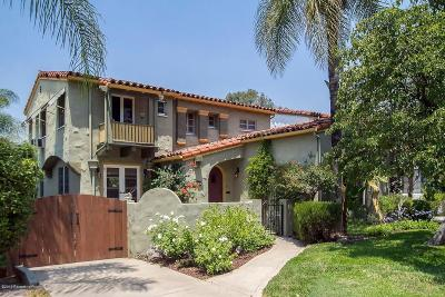 Glendale Single Family Home Active Under Contract: 1231 Cordova Avenue