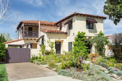 Glendale Single Family Home Active Under Contract: 1517 Highland Avenue