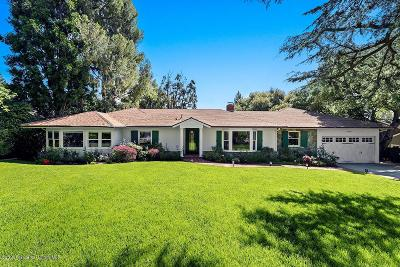 La Canada Flintridge Single Family Home Active Under Contract: 4736 Gould Avenue