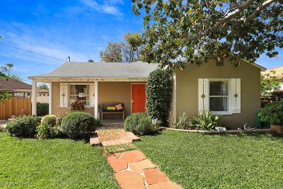 Altadena Single Family Home For Sale: 190 Marathon Road