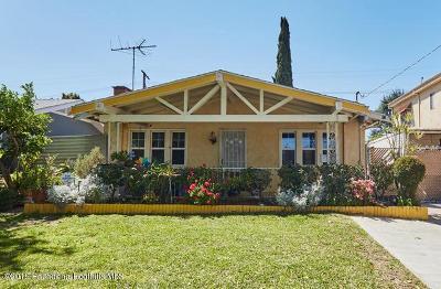 Pasadena Single Family Home For Sale: 73 North San Marino Avenue