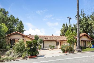 Pasadena Single Family Home For Sale: 3171 East Villa Knolls Drive