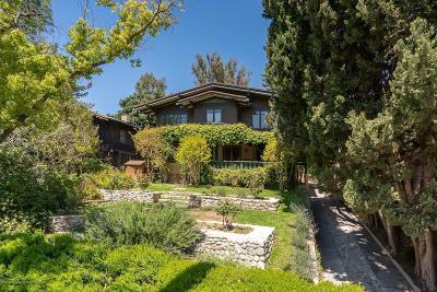 Pasadena Single Family Home For Sale: 615 West California Boulevard