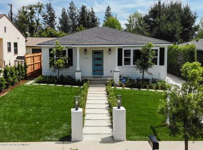Pasadena Single Family Home For Sale: 1758 Kenneth Way