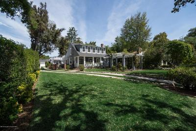 Pasadena Single Family Home For Sale: 685 Bellefontaine Street