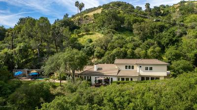 La Canada Flintridge Single Family Home For Sale: 4069 Hampstead Road