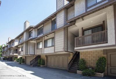 Monrovia Condo/Townhouse For Sale: 910 West Foothill Boulevard #B