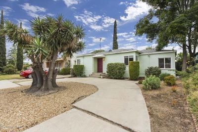North Hollywood Single Family Home For Sale: 5821 Satsuma Avenue