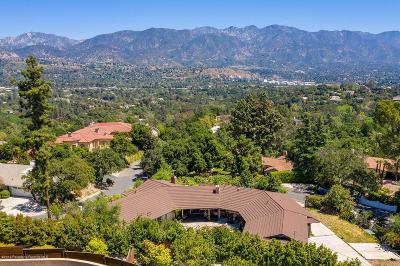 La Canada Flintridge Single Family Home For Sale: 1270 Inverness Drive