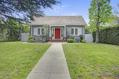Pasadena Single Family Home For Sale: 1554 Casa Grande Street