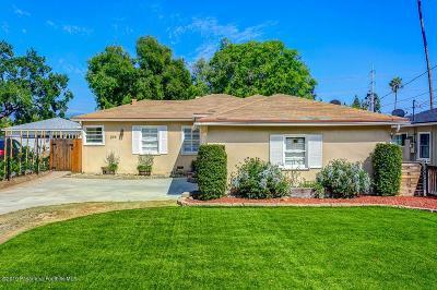 Pasadena Single Family Home For Sale: 594 Eaton Drive