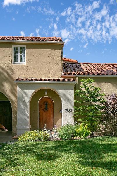 Glendale Single Family Home For Sale: 1633 Santa Barbara Avenue