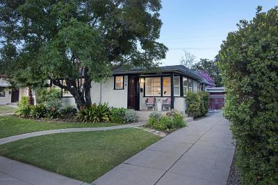 Pasadena Single Family Home For Sale: 440 South Carmelo Avenue