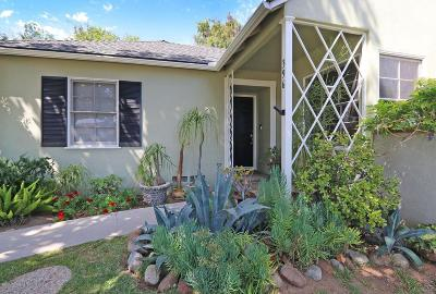 Pasadena Single Family Home For Sale: 396 Northcliff Road