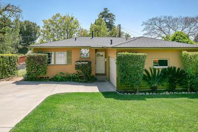 Altadena Single Family Home For Sale: 304 Marathon Road