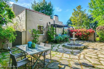 Pasadena Single Family Home For Sale: 585 South Oak Knoll Avenue