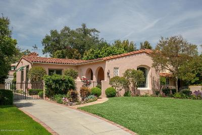 San Marino Single Family Home Active Under Contract: 2759 Doresta Road