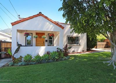 Altadena Single Family Home For Sale: 277 West Poppyfields Drive