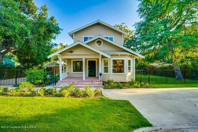Altadena Single Family Home Active Under Contract: 254 West Harriet Street