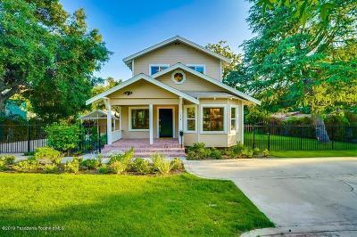 Altadena Single Family Home For Sale: 254 West Harriet Street