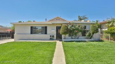 Azusa Single Family Home Active Under Contract: 409 South Enid Avenue
