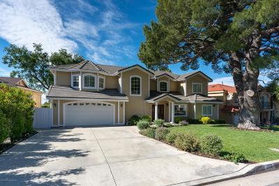 La Crescenta Single Family Home For Sale: 2332 Teasley Street