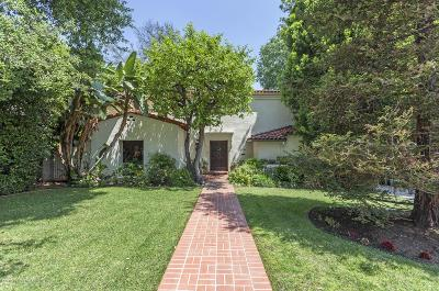 San Marino Single Family Home For Sale: 1780 Ramiro Road