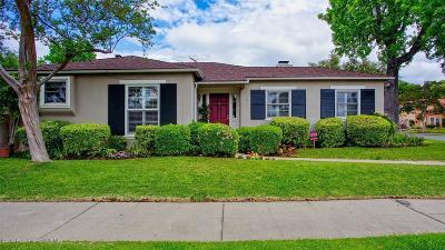 San Gabriel Single Family Home Active Under Contract: 335 Bridge Street
