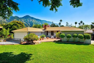 Altadena Single Family Home Active Under Contract: 1990 Craig Avenue