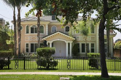 Arcadia Single Family Home For Sale: 62 East Longden Avenue