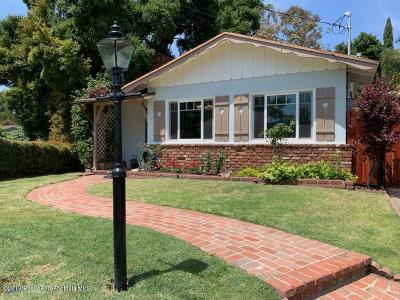 Tujunga Single Family Home Active Under Contract: 6547 Elmo Street
