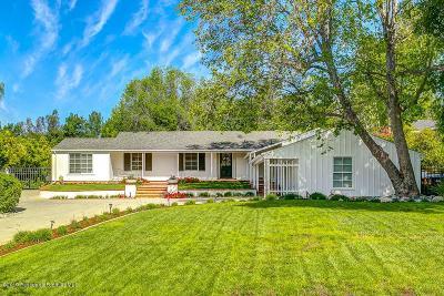 La Canada Flintridge Single Family Home Active Under Contract: 4415 La Granada Way