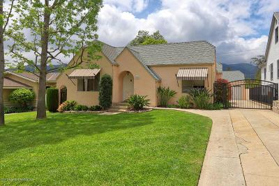 Glendale Single Family Home Active Under Contract: 3535 Rosemary Avenue