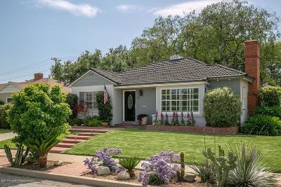 San Gabriel Single Family Home Active Under Contract: 455 Gerona Avenue
