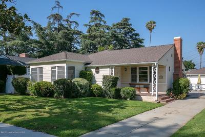 Alhambra Single Family Home For Sale: 420 North Vega Street
