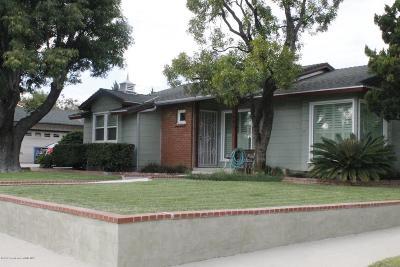 San Fernando Single Family Home Active Under Contract: 1601 Lucas Street