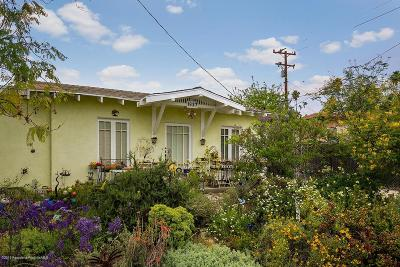 Pasadena Single Family Home For Sale: 1837 North Sierra Bonita Avenue