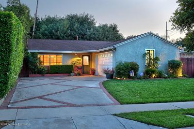 Sunland Single Family Home Active Under Contract: 10787 Big Bend Avenue