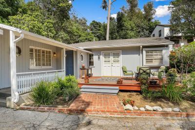 Pasadena Single Family Home Active Under Contract: 247 Sycamore Glen