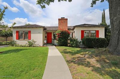 San Marino Single Family Home For Sale: 2285 Longden Drive