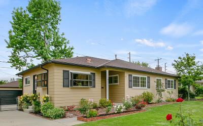 Pasadena Single Family Home For Sale: 801 Lomora Avenue