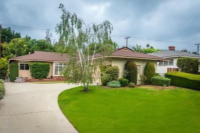Pasadena Single Family Home Active Under Contract: 3255 Primavera Street