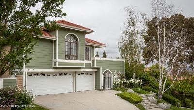 Newhall Single Family Home Active Under Contract: 24129 Creekside Drive