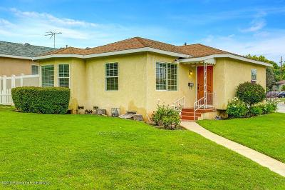 Alhambra Single Family Home For Sale: 846 South Westboro Avenue