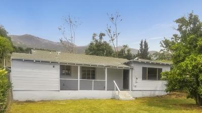 Altadena Single Family Home For Sale: 3217 Marengo Avenue