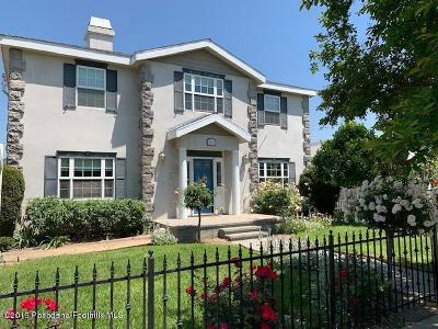 Burbank Single Family Home For Sale: 1411 West Chandler Boulevard