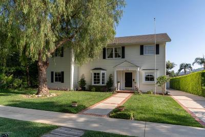Pasadena Single Family Home For Sale: 1190 Madia Street