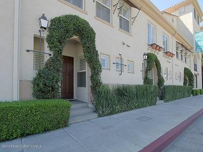 Pasadena Condo/Townhouse For Sale: 612 East Walnut Street
