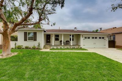 Pasadena Single Family Home For Sale: 3195 Las Lunas Street